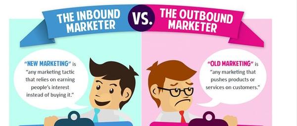 Inbound Marketer VS Outbound Marketer