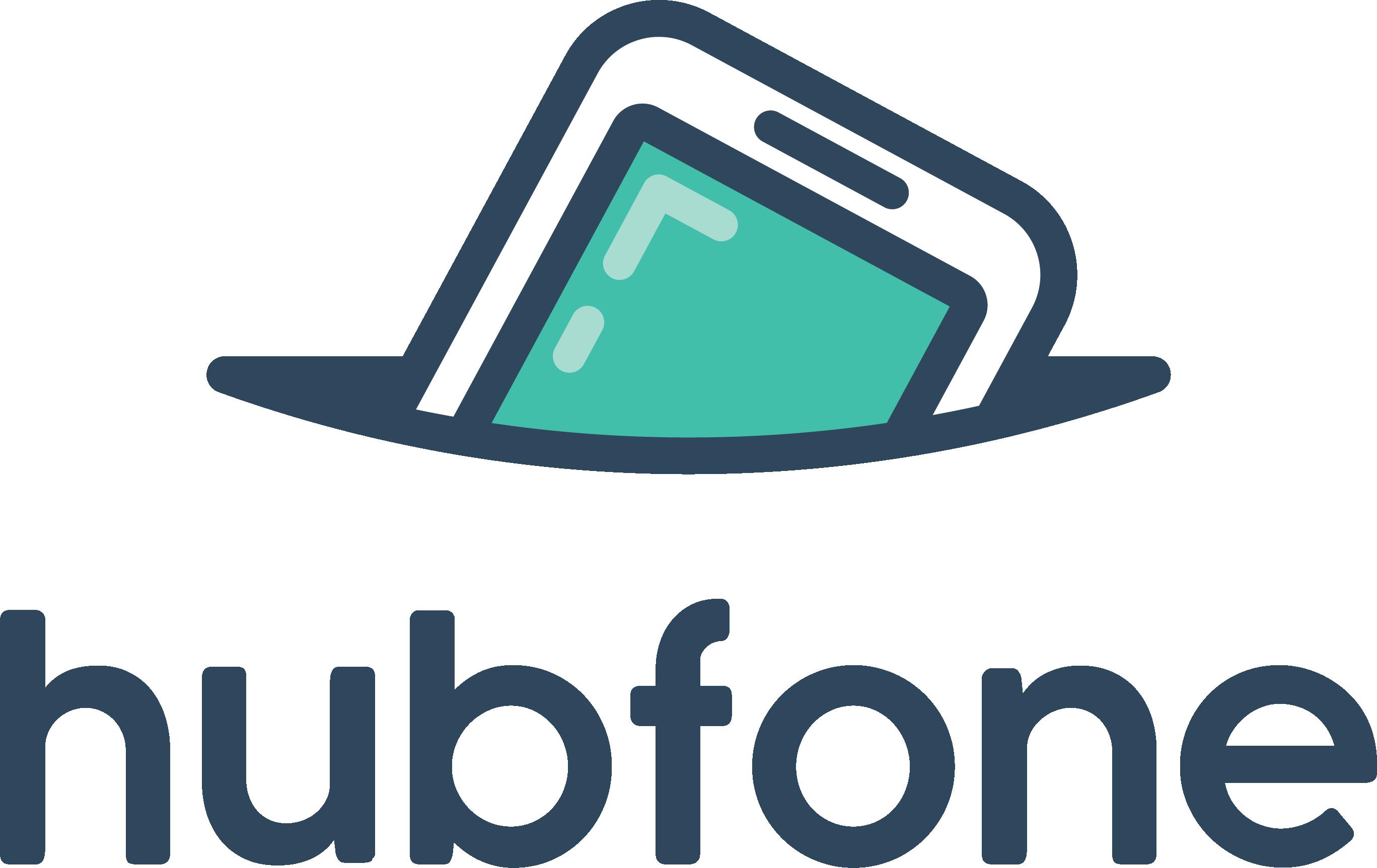 NBH003 HubFone Logo Stacked