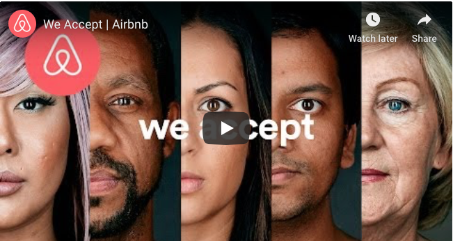 Marketing Humanisation Brand Authenticity Example  Airbnb