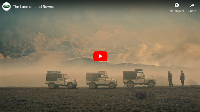 Marketing Humanisation Brand Story-telling example Land of the Land Rover