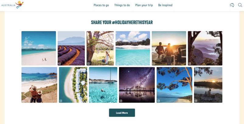 Marketing Humanisation User Generated Content Example Tourism Australia