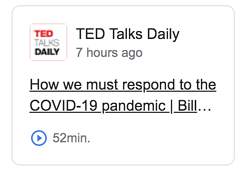 Create your own Branded Podcasts like TedTalk's TedTalk Daily