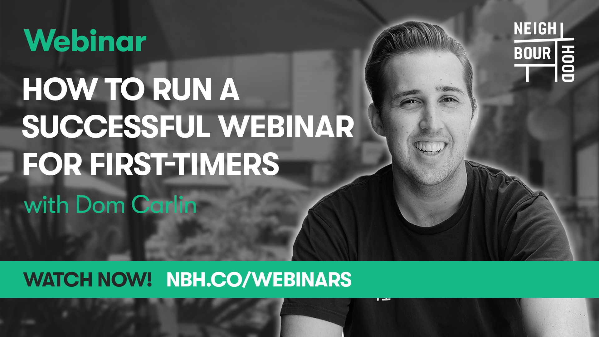 How to Run a Successful Webinar for First-Timers